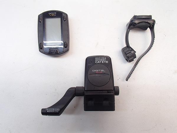サイクルコンピュータ CC-TR200DW V2C ※欠品あり、動作確認済み
