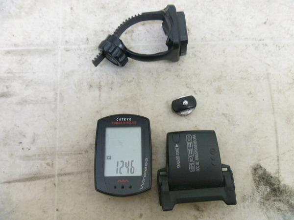 サイクルコンピュータ CC-RD300W 30mm ※動作確認済