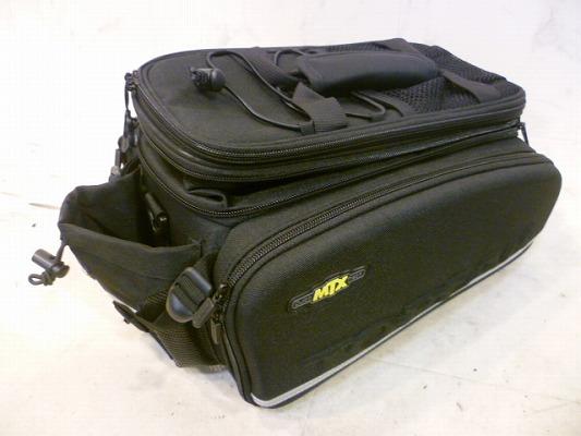 トピーク製リアキャリア対応 MTX トランクバッグ EX