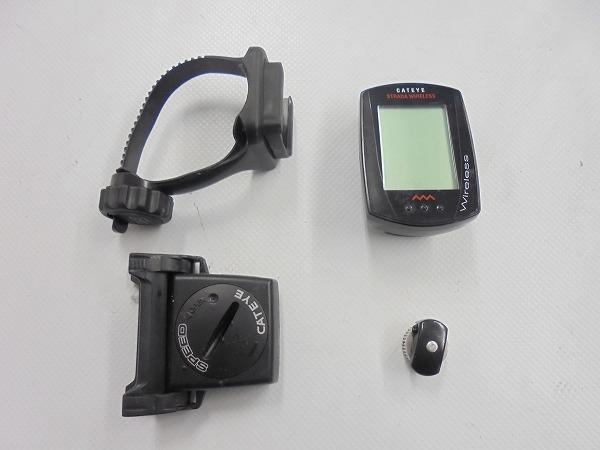 サイクルコンピュータ CC-RD300W ※電池欠品