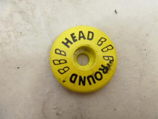 ヘッドキャップ 28.6mm イェロー