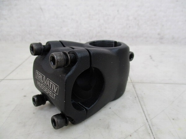 アヘッドステム HUSSEFELT 31.8/40/28.6mm ブラック