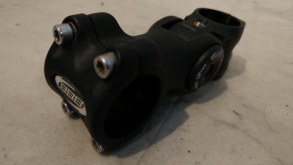可変式アヘッドステム 90mm/φ31.8/OS ブラック