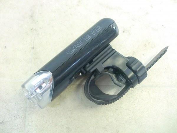 フロントライト HL-EL130 1LED ブラック