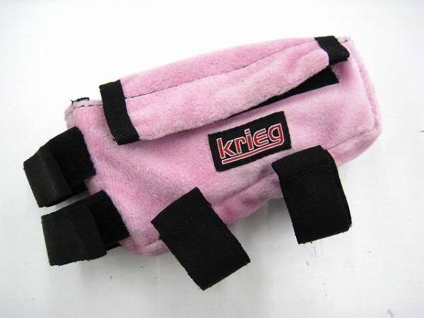 フレームバッグ ピンク