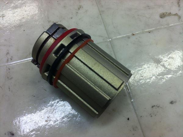 フリーボディ シマノ用 アクスル内径15mm
