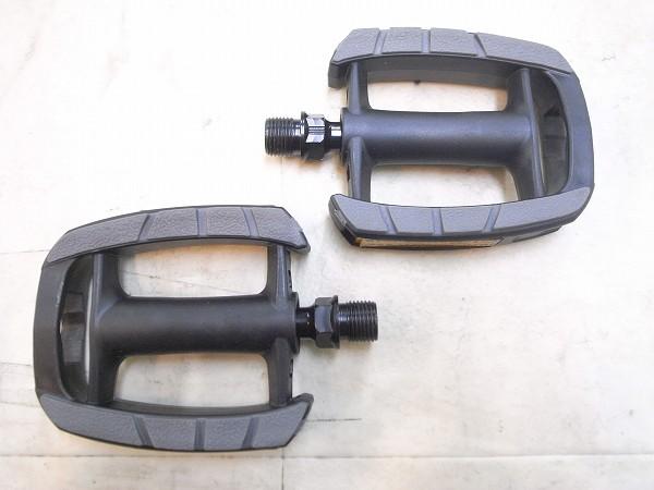 フラットペダル VP-856 樹脂製 ブラック/グレー