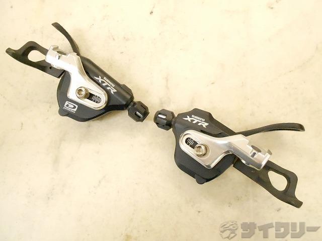 シフター SL-M980-B XTR 2/3×10s
