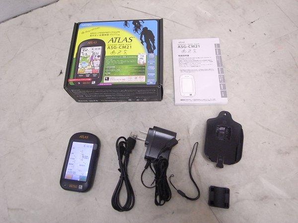 GPS機能付サイクルコンピューター ATLAS ASG-CM21 ※GPS動作確認済み