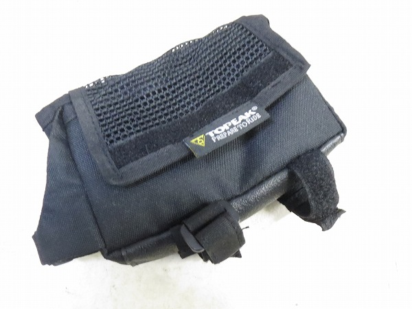 トップチューブバッグ TRIBAG オールウェザー 140x40x100mm レインカバー付属