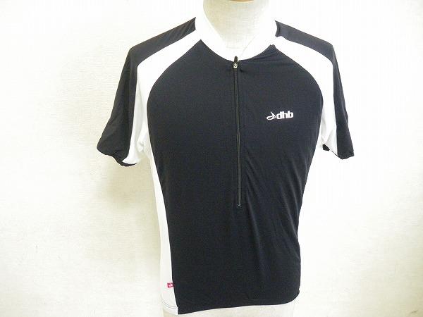 半袖ジャージ Sサイズ ブラック/ホワイト