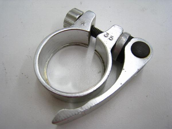 シートクランプ 35mm アルミ シルバー