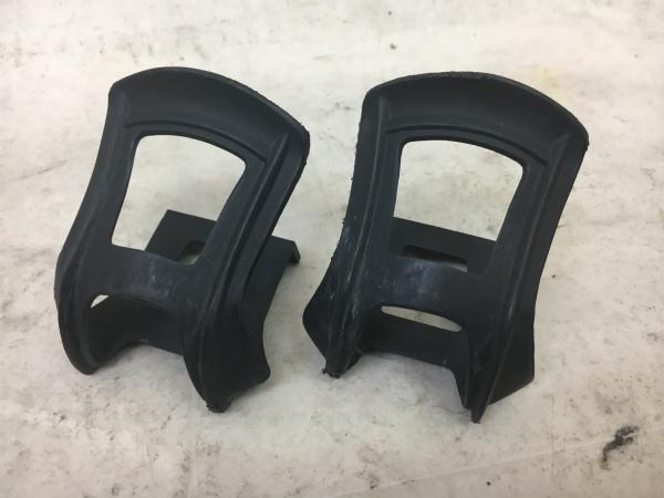 ハーフクリップ 樹脂製 ブラック