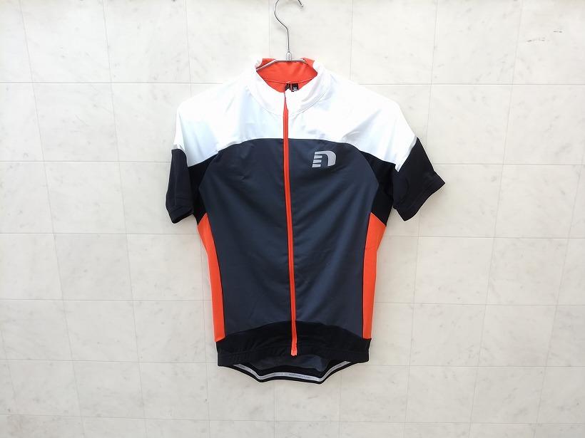 半袖フルジップジャージ bike stretch jersey Sサイズ
