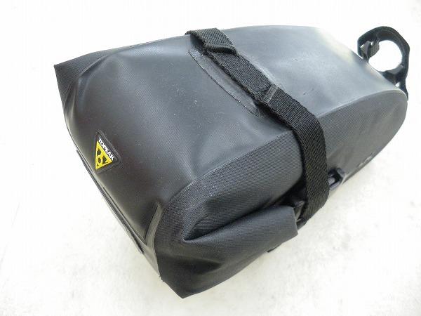 サドルバッグ Wedge DryBag(ウェッジドライバック) ストラップマウント Lサイズ