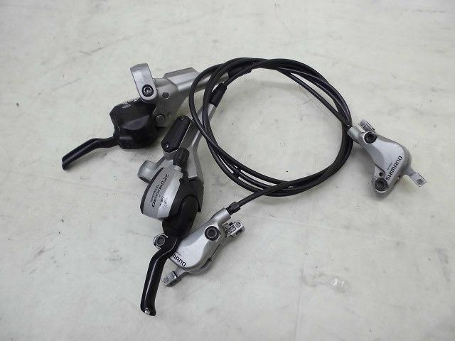 デュアルコントロールレバー 油圧式ブレーキセット ST-M585/BR-M585