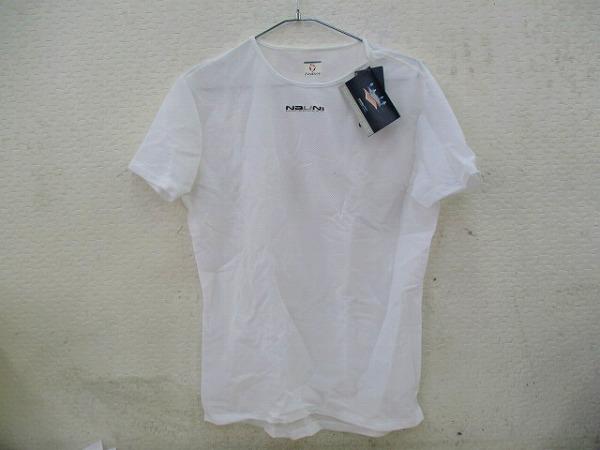半袖インナーウェア ISTMO XLサイズ ホワイト