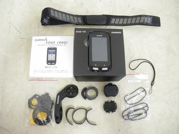 EDGE1000j サイクルコンピューター GPS スピード・ケイデンス・ハートレート機能有