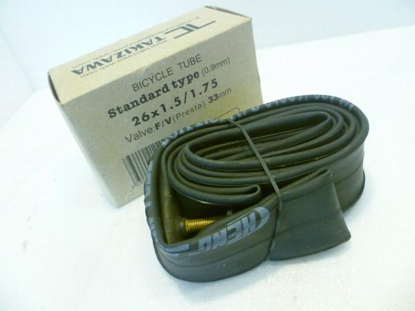 チューブ 26x1.5-1.75 仏式33mm
