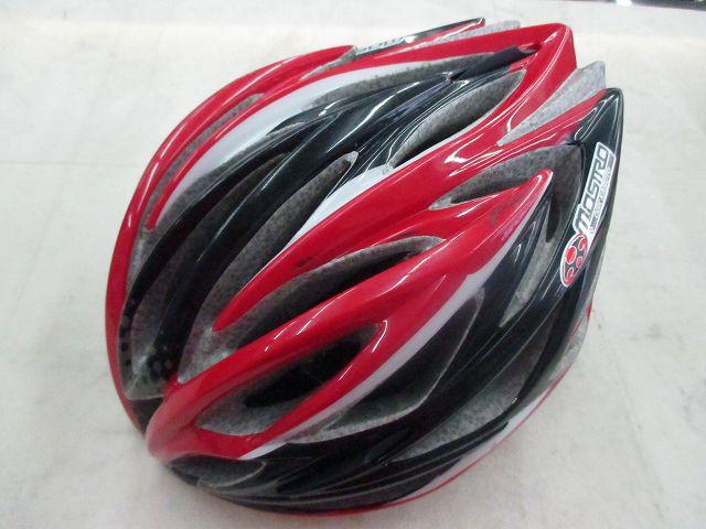 ヘルメット MOSTRO サイズ:S/M レッド/ブラック
