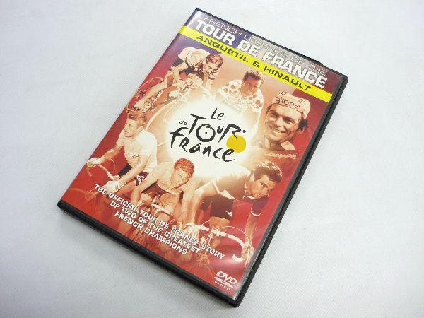 DVD レジェンド・オブ・ツール・ド・フランス 伝説のフランス人ロードレーサー ※パッケージ破損