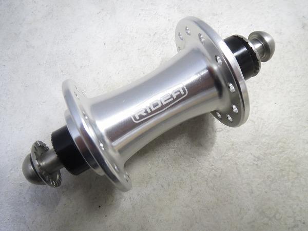 フロントハブ RS HF424 SR ボルト固定 24H シルバー