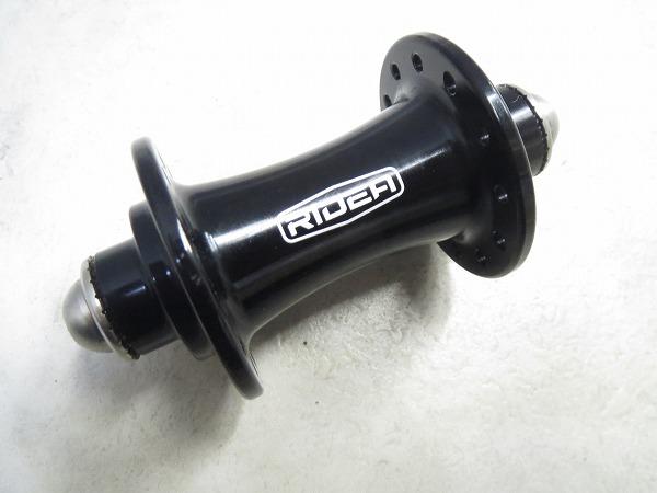 フロントハブ RS HF424 BK ボルト固定 24H ブラック