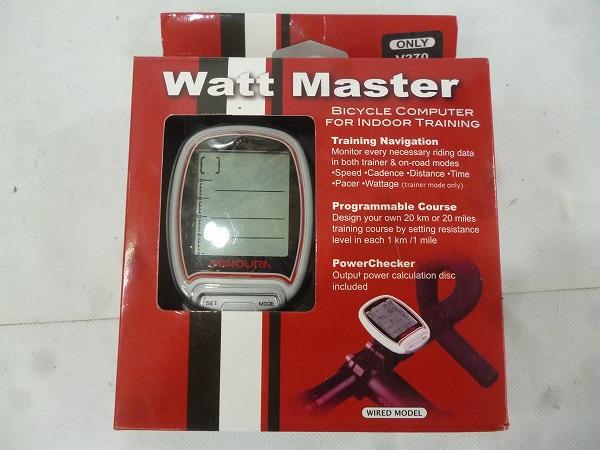 ローラー台専用サイクルコンピュータ Watt Master