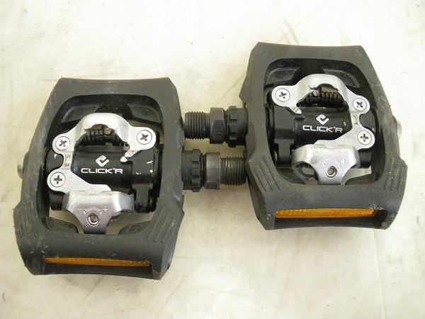 PD-T400 ビンディングペダル クリッカー(CLICKR) SPD対応 ブラック