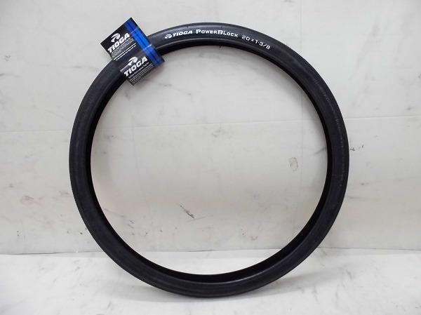 クリンチャータイヤ POWER BLOCK 20x1-3/8 ブラック