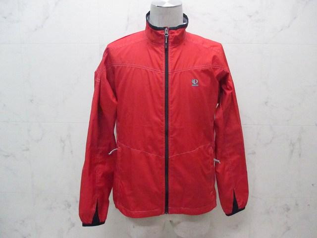 ウィンドブレークジャケット レッド サイズ:M
