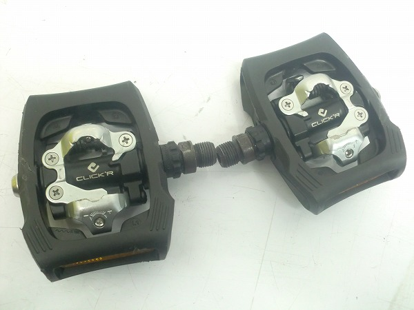 ビンディングペダル PD-T400 CLICKR ブラック