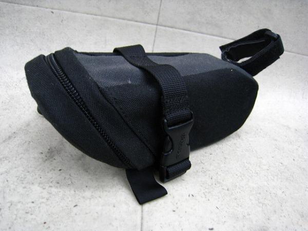 サドルバッグ グレー/ブラック Sサイズ