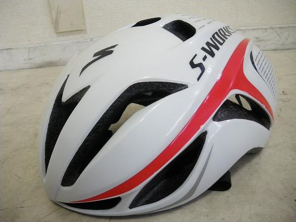 EVADE ヘルメット 58-64cm 2014年モデル ホワイト/レッド