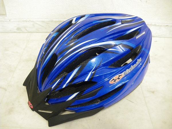 ヘルメット LEFF XL/XXL ブルー ※破損有