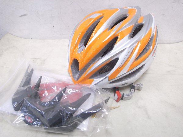 ヘルメット REGAS-2 M/Lサイズ 2013年式 オレンジ/ホワイト
