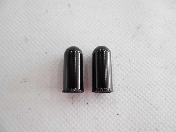 バルブキャップ 仏式/アルミ/ブラック