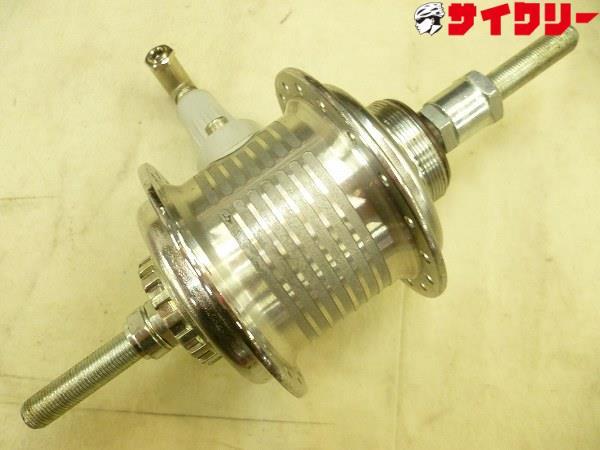 リアエアハブ 125.5mm/36H