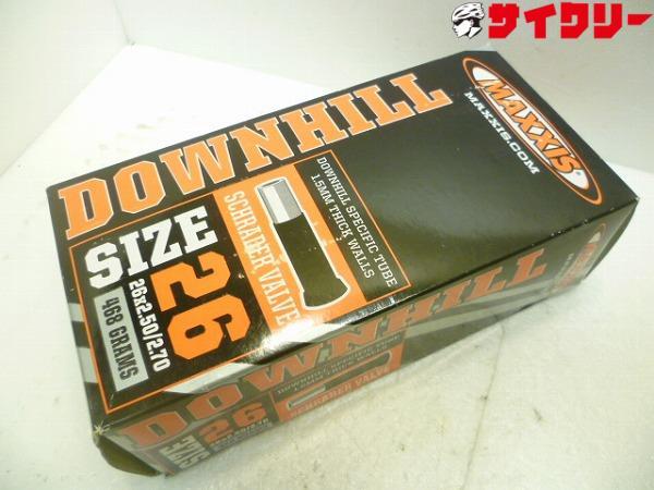 チューブ DOWNHILL 26x2.5-2.7 米式