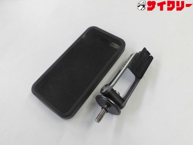 携帯ホルダー ライドケース iphone5シリーズ用 ヘッドキャップマウント付属