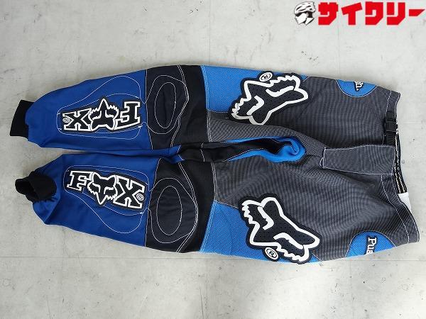 モトパンツ ロング サイズ:32 ブルー