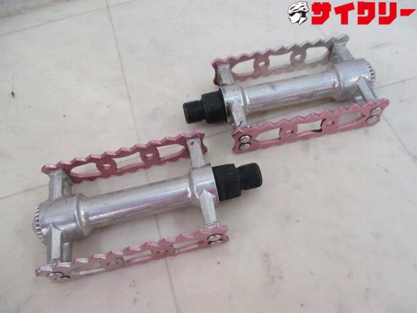 フラットペダル VP-365 シルバー/ピンク