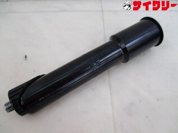 アヘッドコンバーター 22.2mm→25.4mm ブラック