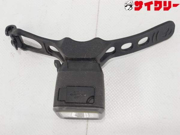 USB充電式リアライト Flare R City ブラック