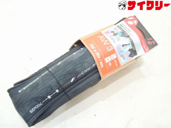 クリンチャータイヤ AW3 700×25c ブラック