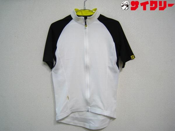 半袖ジャージ サイズ:L ホワイト/ブラック