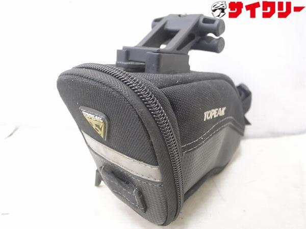 サドルバッグ Aero Wedge Pack QuickClick Sサイズ ブラック