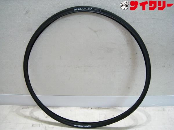 クリンチャータイヤ KOUNTACH 700x25c ブラック