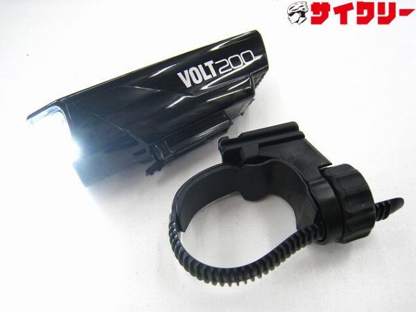 フロントライト VOLT200 HL-EL151RC ブラック