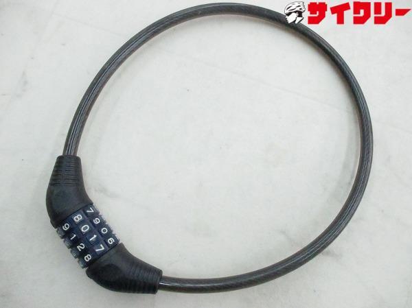 ダイヤル式ロック ブラック